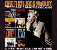 Brother Jack McDuff (1926-2001): Classic Albums 1960 - 1963, 4 CDs