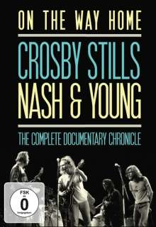 Crosby, Stills, Nash & Young: On The Way Home: The Complete Documentary Chronicle, 2 DVDs