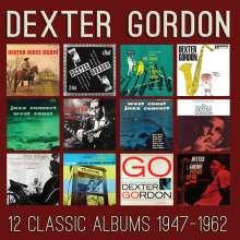 Dexter Gordon (1923-1990): 12 Classic Albums, 6 CDs