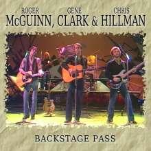 Roger McGuinn, Gene Clark & Chris Hillman: Backstage Pass, CD