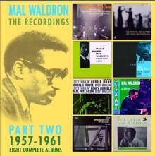 Mal Waldron (1926-2002): The Recordings Part Two: 1957 - 1961 (Eight Complete Albums), 4 CDs