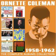 Ornette Coleman (1930-2015): The Complete Albums Collection: 1958 - 1962, 4 CDs