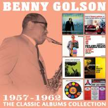 Benny Golson (geb. 1929): The Classic Albums Collection 1957 - 1962, 4 CDs