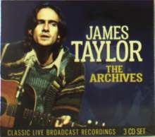 James Taylor: The Broadcast Archives: Live 1970 - 1986, 3 CDs