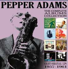 Pepper Adams (1930-1986): The Classic Albums Collection: 1957 - 1961, 4 CDs