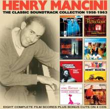 Henry Mancini (1924-1994): Filmmusik: The Classic Soundtrack Collection 1958 - 1963, 4 CDs