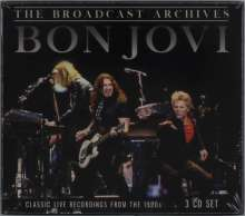 Bon Jovi: Classic Live Recordings From The 1990s, 3 CDs