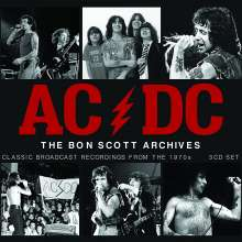 AC/DC: The Bon Scott Archives: Classic Broadcast Recordings From The 1970s, 3 CDs