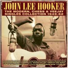 John Lee Hooker: The Modern, Chess & VeeJay Singles Collection, 4 CDs