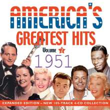 America's Greatest Hits Vol. 2: 1951 (Expanded Edition), 4 CDs