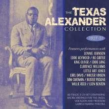 """Alger """"Texas"""" Alexander: The Texas Alexander Collection 1927-51, 3 CDs"""