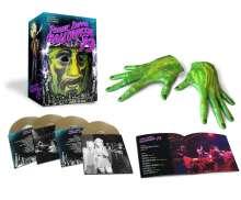 Frank Zappa (1940-1993): Halloween '73 (Live In Chicago, 1973) (Limited Boxset), 4 CDs und 1 Merchandise