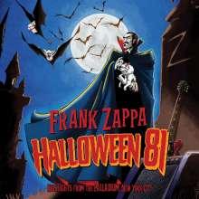Frank Zappa (1940-1993): Halloween 81: Live At The Palladium, New York City, CD