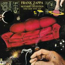 Frank Zappa (1940-1993): One Size Fits All (180g), LP