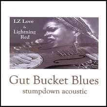 Lz Love & Lightning Red: Gut Bucket Blues Stumpdown Aco, CD