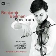 Benjamin Beilman - Spectrum, CD