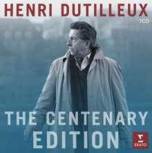 Henri Dutilleux (1916-2013): Henri Dutilleux - The Cententary Edition, 7 CDs