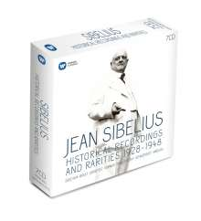 Jean Sibelius (1865-1957): Jean Sibelius - Historical Recordings and Rarities 1928-1948, 7 CDs