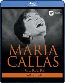 Maria Callas in Paris 19.12.58 - La Callas Toujours, Blu-ray Disc