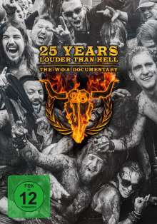 25 Years Louder Than Hell: The W:O:A Documentary, DVD