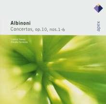 Tomaso Albinoni (1671-1751): Concerti op.10 Nr.1-6, CD