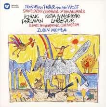 Serge Prokofieff (1891-1953): Peter und der Wolf op.67 (in englischer Sprache), CD