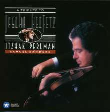 Itzhak Perlman - A Tribute to Jascha Heifetz, CD
