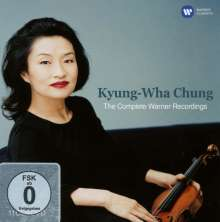 Kyung Wha Chung - The Complete Warner Recordings, 11 CDs und 1 DVD
