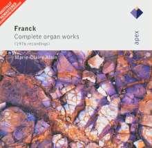 Cesar Franck (1822-1890): Orgelwerke, 2 CDs
