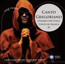 Canto Gregoriano - Stimmen der Stille Vol.2, CD