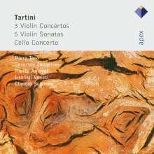 Giuseppe Tartini (1692-1770): Violinkonzerte D.45,56,82, 2 CDs