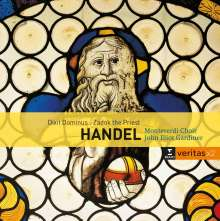 "Georg Friedrich Händel (1685-1759): Funeral Anthem ""The Ways of Zion do mourn"" HWV 264, 2 CDs"