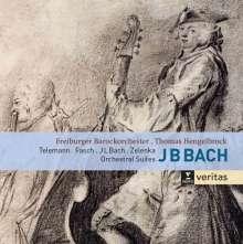 Johann Bernhard Bach (1676-1749): Orchestersuiten Nr.1-4, 2 CDs