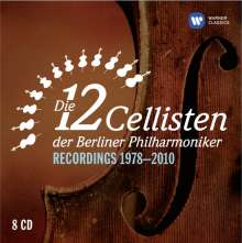 Die 12 Cellisten der Berliner Philharmoniker - Recordings 1978-2010, 8 CDs