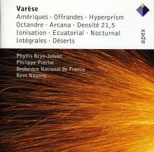 Edgar Varese (1885-1965): Ameriques, 2 CDs