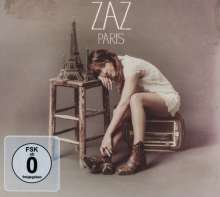 Zaz (Isabelle Geffroy): Paris (Limited-Edition), 1 CD und 1 DVD