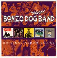 The Bonzo Dog Doo-Dah Band: Original Album Series, 5 CDs