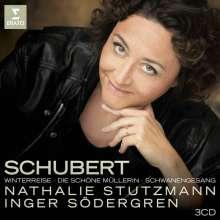 Franz Schubert (1797-1828): Liederzyklen, 3 CDs