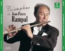 Jean-Pierre Rampal - Les Triomphes de Jean-Pierre Rampal, 3 CDs
