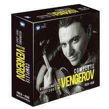 Maxim Vengerov - The Complete Recordings 1991-2007, 19 CDs und 1 DVD