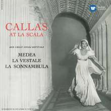 Callas at La Scala, CD
