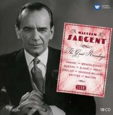 Malcolm Sargent - The Great Recordings (Icon), 17 CDs