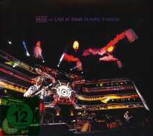 Muse: Live At Rome Olympic Stadium, 1 CD und 1 Blu-ray Disc