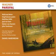 Richard Wagner (1813-1883): Parsifal, 4 CDs