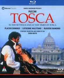 Giacomo Puccini (1858-1924): Tosca (TV-Produktion), Blu-ray Disc