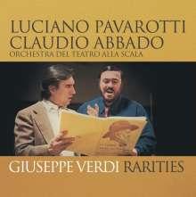 Luciano Pavarotti - Giuseppe Verdi Rarities, CD