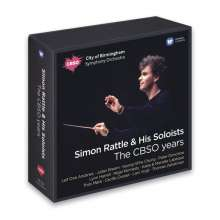 Simon Rattle & His Soloists - The CBSO Years, 15 CDs