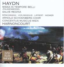 "Joseph Haydn (1732-1809): Messe Nr.9 ""Pauken-Messe"", CD"