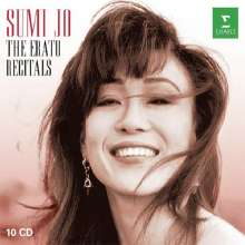 Sumi Jo - The Erato Recitals (Exklusiv für jpc), 10 CDs