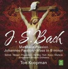 Johann Sebastian Bach (1685-1750): Ton Koopman dirigiert geistliche Werke, 7 CDs